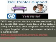 Quick Assist 1-800-383-368  Dell Printer Support Number