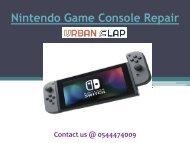 Get the service of Nintendo Game Console Repair in Dubai, Call 0544474009