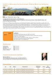 ELB 2013 | Nationalpark Sächsische Schweiz: Wald und Mythen der ...