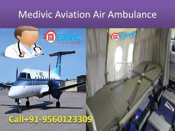 Low Cost and Fast Medical Air Ambulance Service in Kolkata