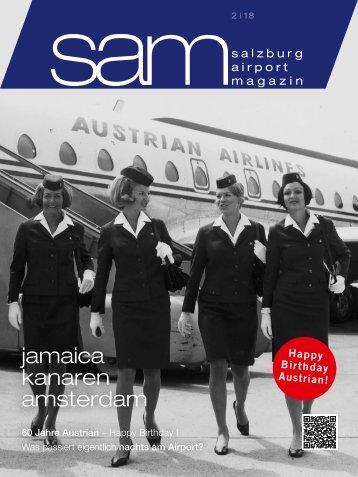 Salzburg Airport Magazin SAM 02-2018
