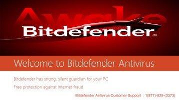 Welcome to Bitdefender Antivirus