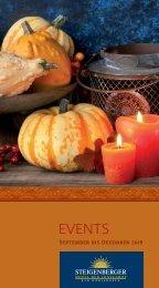 Eventkalender Herbst und Winter