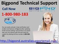 Use Bigpond Technical Support  1-800-980-183| Prevent Unwanted Emails