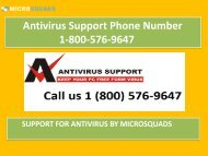 Antivirus Support Phone Number 1-800-576-9647-converted