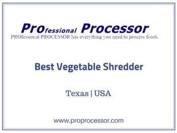 Vegetable Shredder