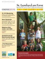 Gemeindezeitung 02/2011 (2,08 MB) - St. Leonhard am Forst