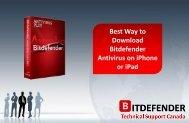 Best Way to Download Bitdefender Antivirus on iPhone or iPad