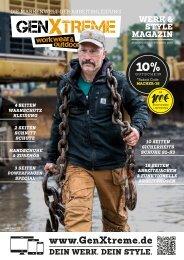 GenXtreme - Werk und Style Magazin 2018 Nr. 2 - September 2018