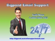 Rearrange Email setting | Dial 1-800-980-183 for Bigpond Support