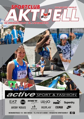 02 September Sportclub Aktuell 2018