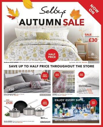 03163 Autumn Sale Selbys DPS 330x267mm we21-09 4