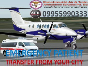 Get Best and Low-Cost Air Ambulance Service in Patna