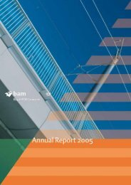 Annual report 2005 - Royal BAM Group