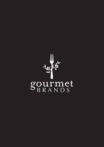 Gourmet Brands Brochure 2018