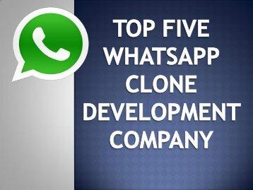 Whatsapp Clone App Development