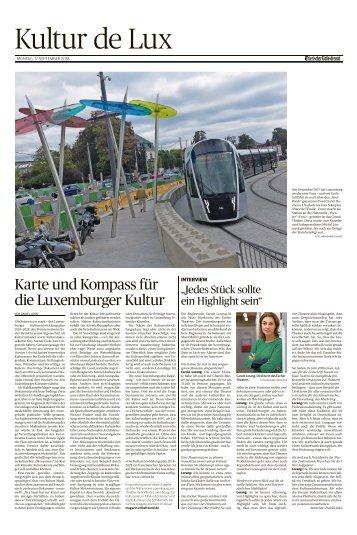 Kultur de Lux 09/2018