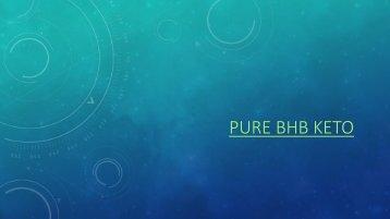 Pure BHB Keto