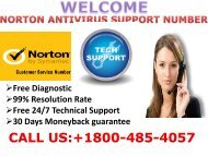 Norton Antivirus Helpline Support 1800-485-4057 Number