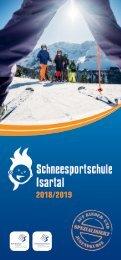 Schneesportschule Isartal Prospekt 2018/2019