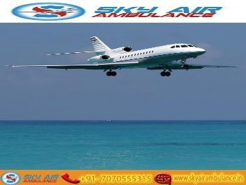 Fastest and Safest Air Ambulance Service in Bagdogra with MBBS Doctor