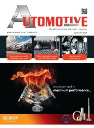 Automotive Exports September