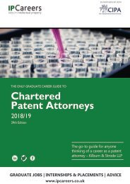 The Guide to Chartered Patent Attorneys