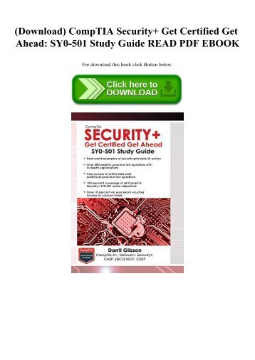 Comptia Security+ Study Guide Pdf