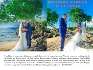 Wedding in St Lucia