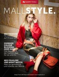 MALLSTYLE. Magazin - Herbst 2018