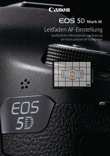 EOS 5D Mark III Leitfaden AF_GER