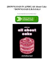 [DOWNLOAD IN @PDF] All About Cake ^DOWNLOAD E.B.O.O.K.#