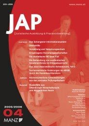 Perner JAP 06 Teil 1.pdf, Seiten 1 - Institut für Zivilrecht - Universität ...