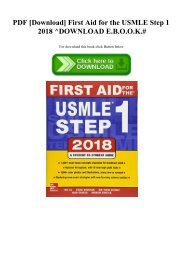 2003 usmle step 1 hi-yield topics and remembered questions