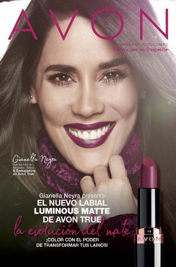 Avon - Cosmeticos C16 18