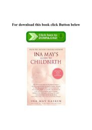 PDF) Ina May's Guide to Childbirth Updated With New Material READ PDF EBOOK