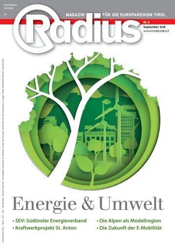 Radius Energie und Umwelt 2018