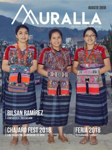 Revista Muralla Agosto 2018