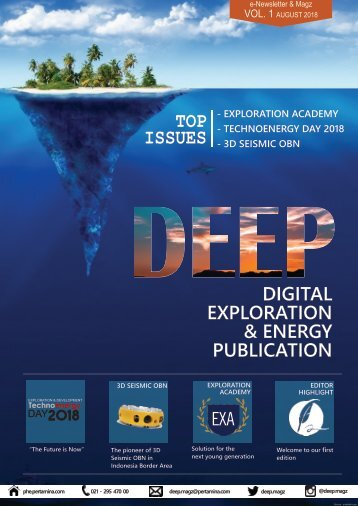 Deep Newsletter VOL 1