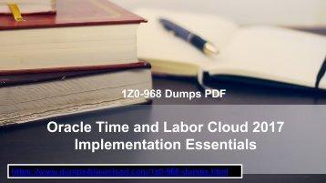 Oracle 1Z0-968 Dumps | 1Z0-968 Dumps 1Z0-968 | www.dumps4download.com