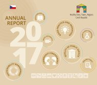 Healthy Cities, Towns, Regions Czech Republic Annual Report 2017