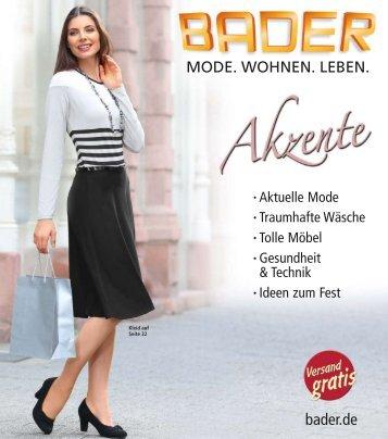 Bader Akzente Herbst 2018
