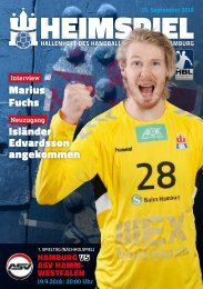 Hallenheft | Handball Sport Verein Hamburg – ASV Hamm-Westfalen