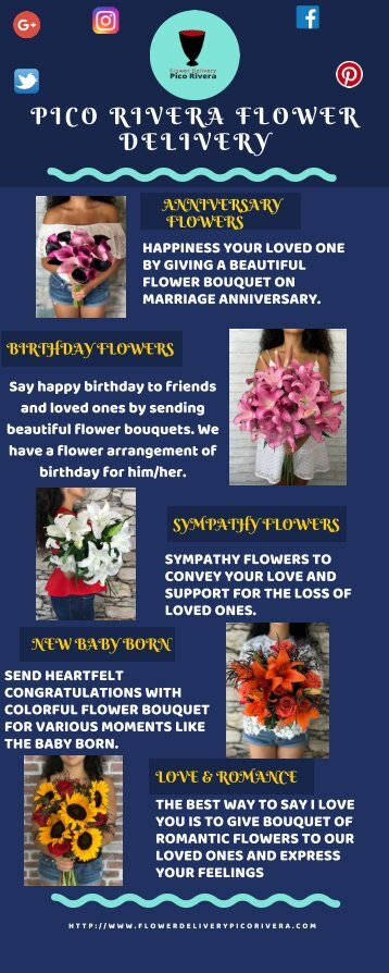Pico Rivera Flower Delivery (display)