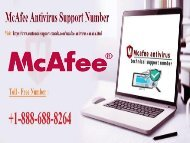 How to fix to McAfee Error Code 10060? Call: +1-888-688-8264