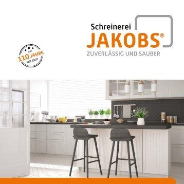 Broschüre 2018 - Schreinerei Jakobs GmbH