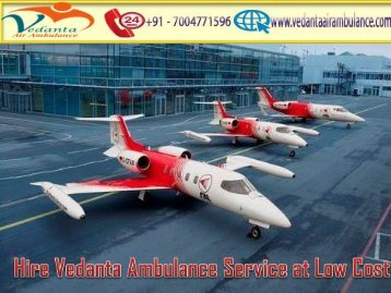 Vedanta Air Ambulance Service in Amritsar Gives Best Healthcare Facility