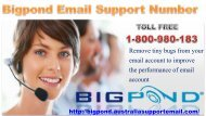 Bigpond Email Support Number 1-800-980-18|Reset Password