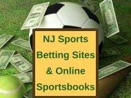 NJ Sports Betting Sites & Online Sportsbooks