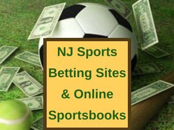 NJ Sports Betting Sites & Online Sportsbooks